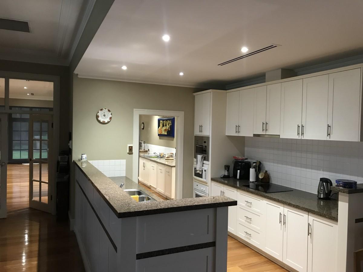 Interior Kitchen<br /> Paint finish